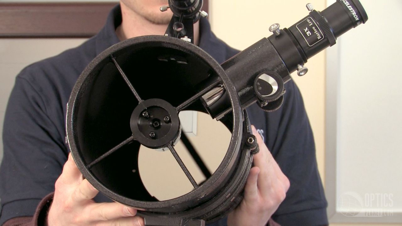 opplanet celestron powerseeker 127eq telescope flv