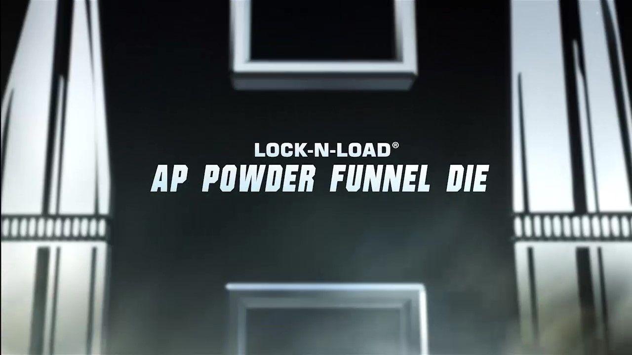 Hornady Reloading Lock-N-Load AP Powder Funnel Die 095360 Dies