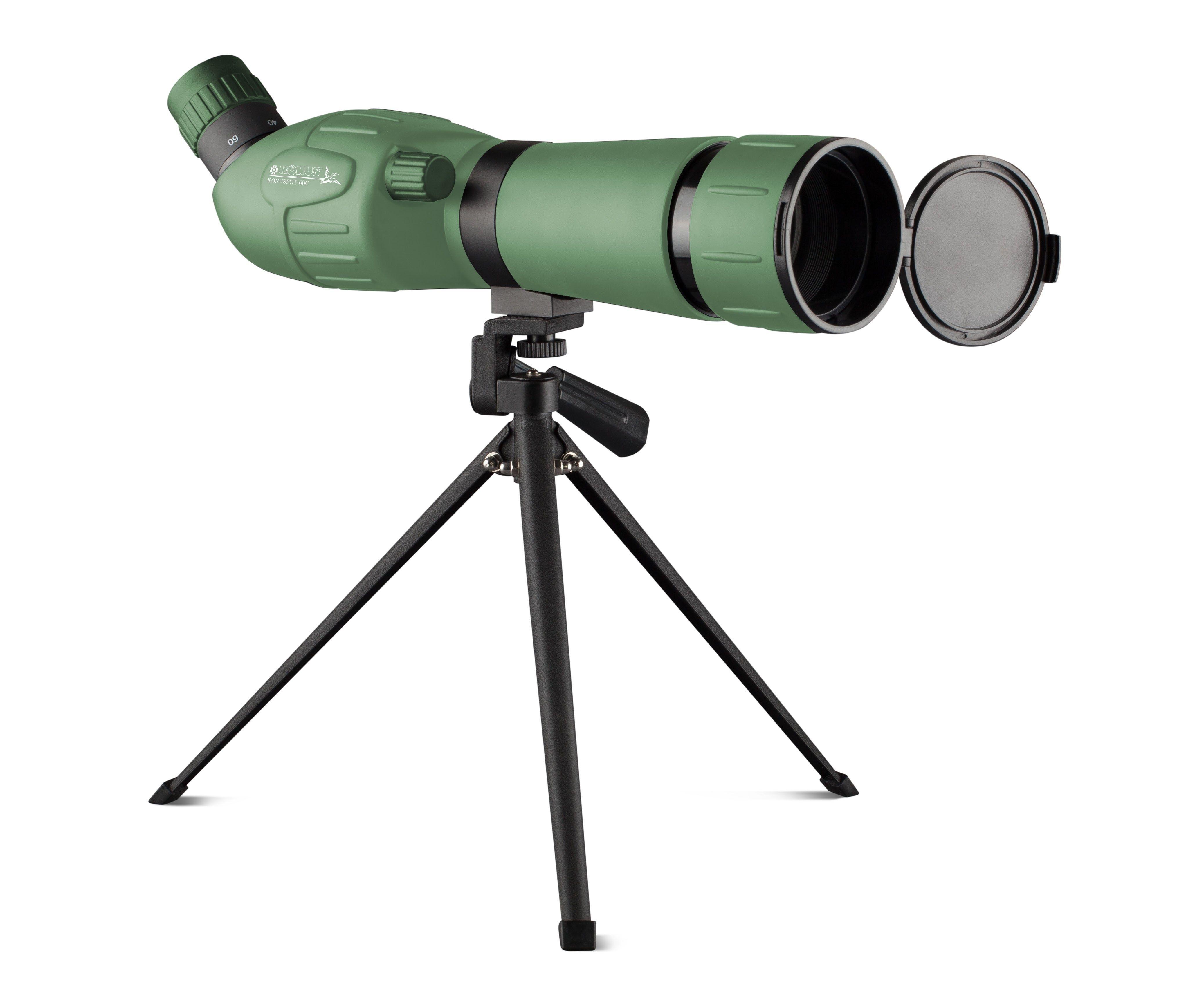 Image Is Loading Konus Konuspot 60C 20 60x60 Zoom Spotting Scope