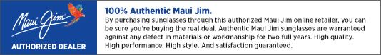 ae7d3c12dbf3a Specifications for Maui Jim Rainbow Falls Sunglasses