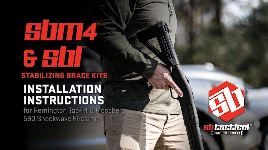 Remington V3 Tac 13 Brace
