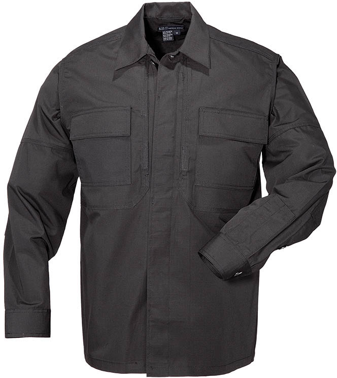 5.11 Tactical Long Sleeve Ripstop TDU Khaki Shirt 72002