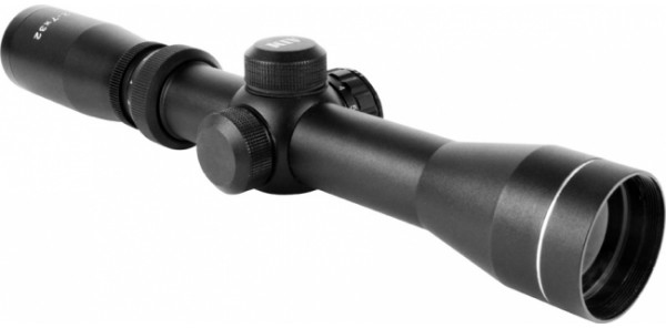AIM Sports 2-7X32 Dual Illuminated Pistol / Scout Scope - Long Eye Relief,  w/ Rings