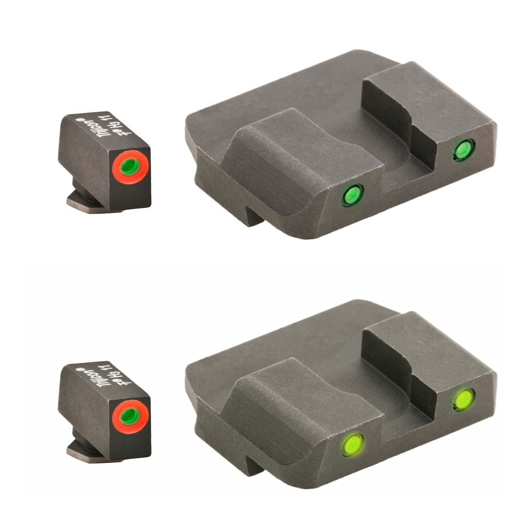 AmeriGlo Spartan Tactical Operator Sights for Glock