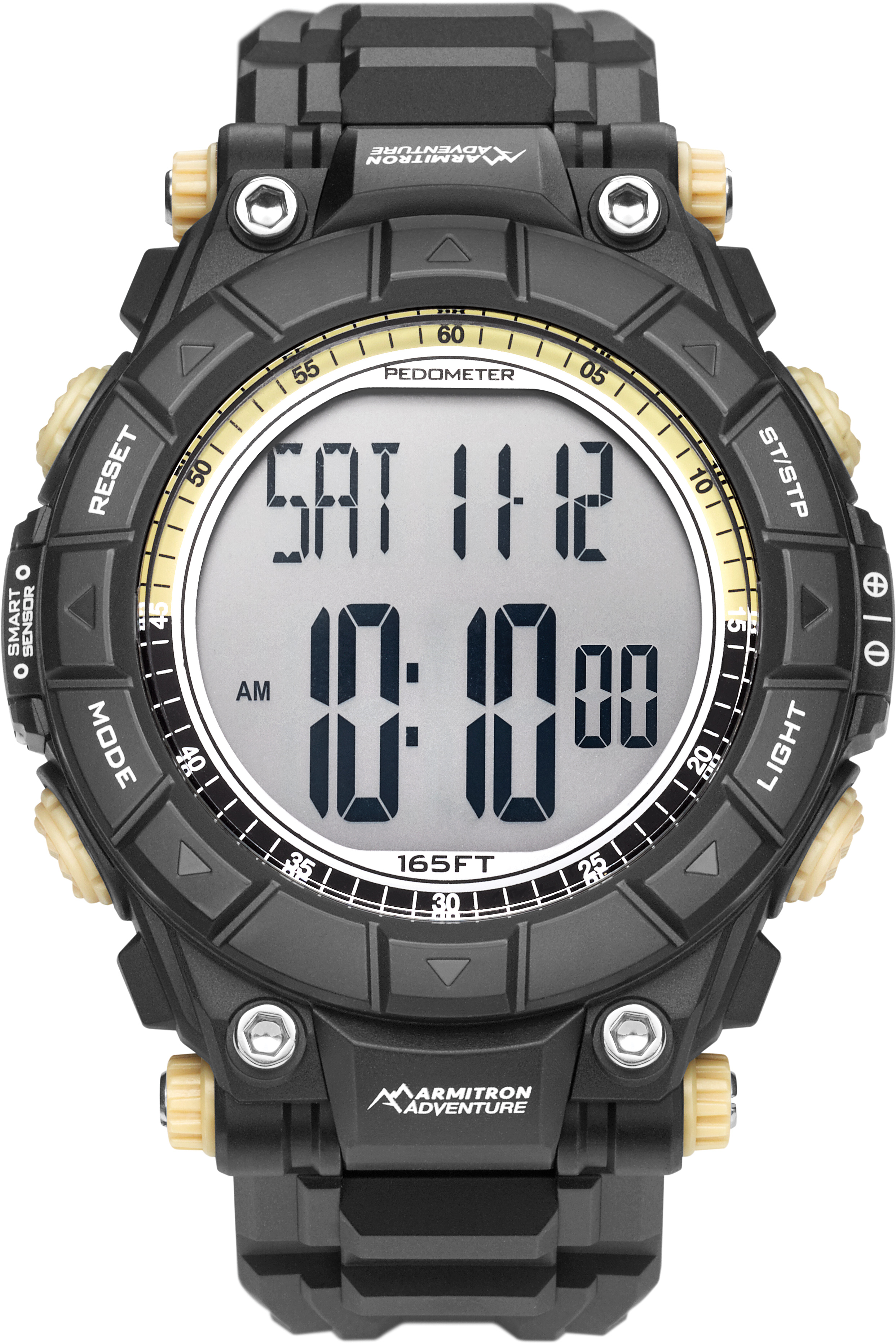 1cebbd4d8 ARMITRON ADVENTURE Digital Watch With Black Resin Band- 49mm | w/ Free S&H