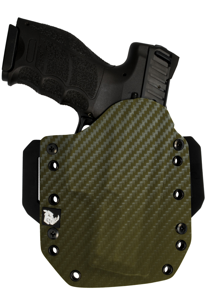 Black Rhino Concealment Tactical Carry Holster System for Walther PPK/S Models