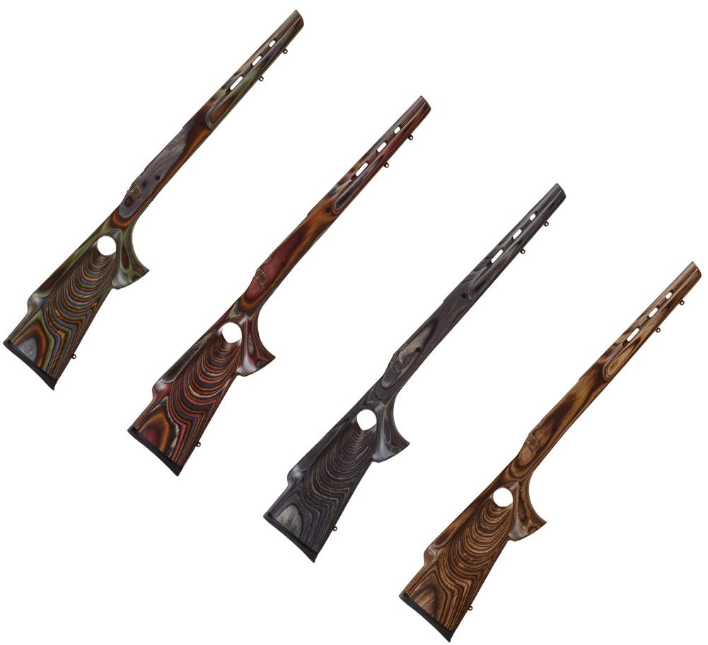 Boyds Hardwood Gunstocks Featherweight Thumbhole Remington 700 ADL Short  Action Rifle Stock