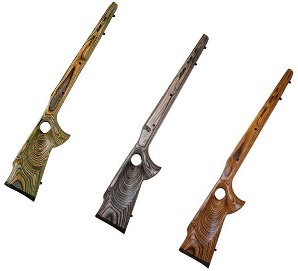 Boyds Hardwood Gunstocks Featherweight Thumbhole Winchester 70 Long Action  1-Piece Floor Plate Rifle Stock