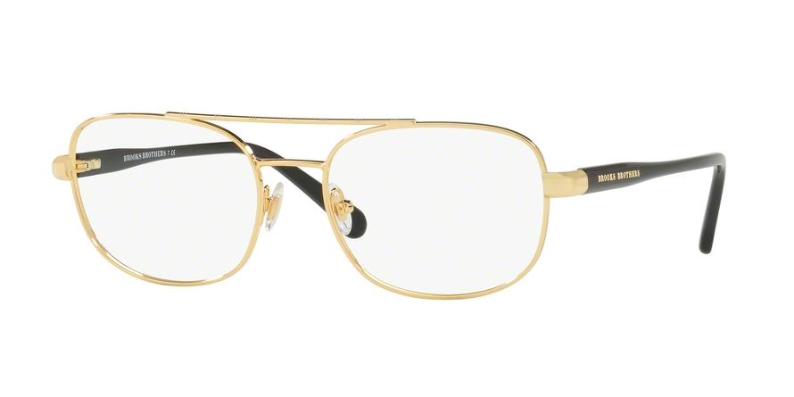 d4028232eb Brooks Brothers BB1050 Bifocal Prescription Eyeglasses BB1050-1678-55-BI  Frame Color  Gold   Black