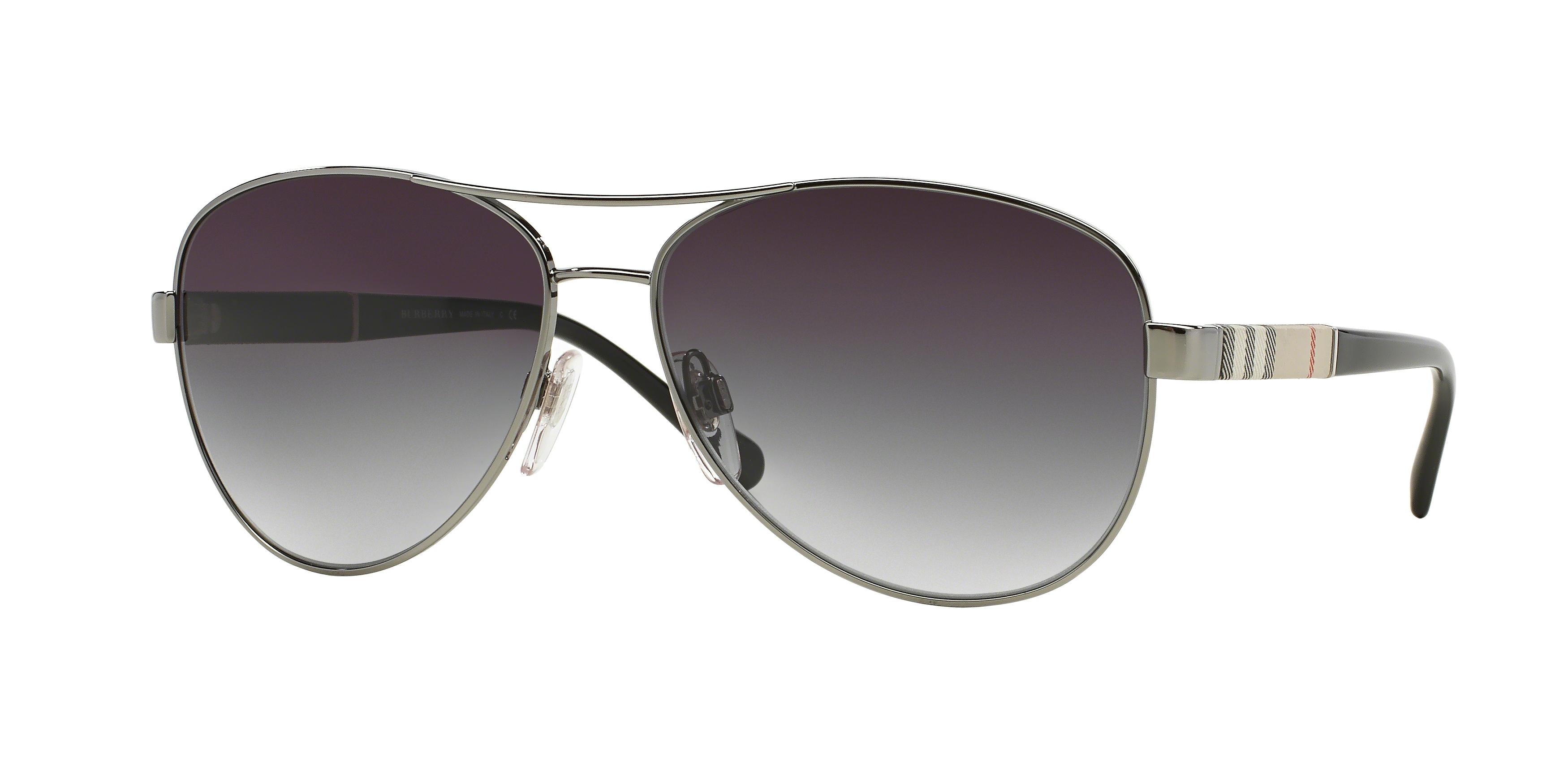 28853d819a3c Burberry BE3080 Single Vision Prescription Sunglasses