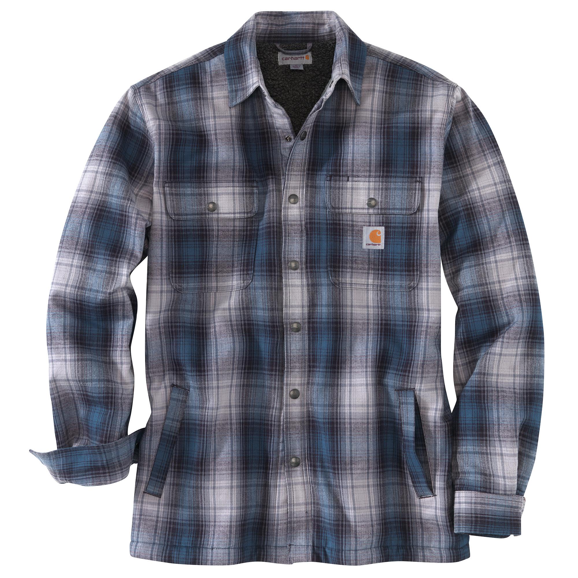 Carhartt Hubbard Sherpa Lined Shirt Jacket Men's