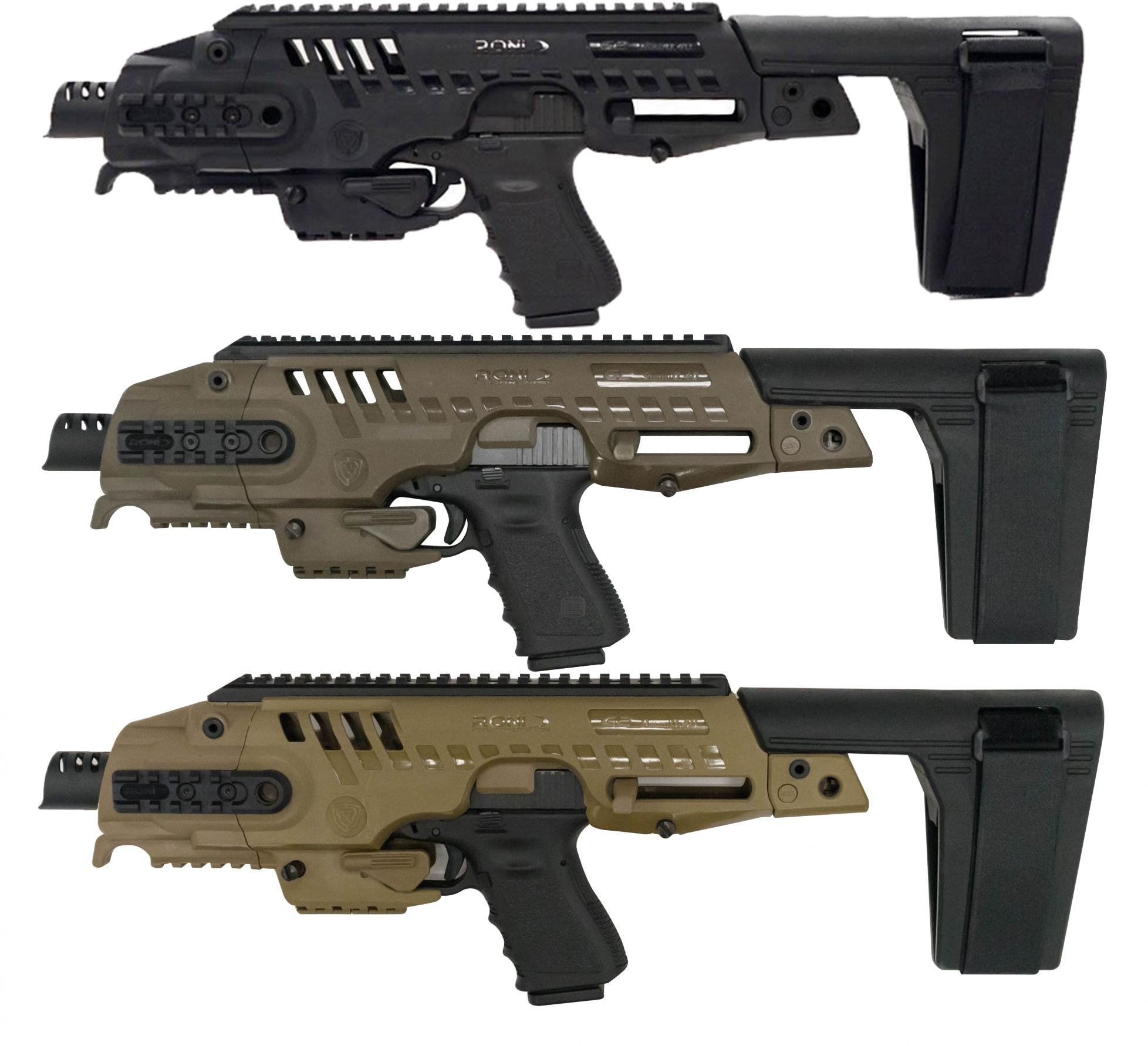 CAA Micro Roni Stabilizer Pistol Carbine Conversion for Glock - Non NFA
