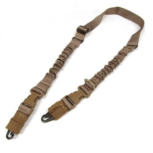 Details about  /Kombat Double Point Bungee Sling Adujstable Strap For Airsoft Outdoor Shooting