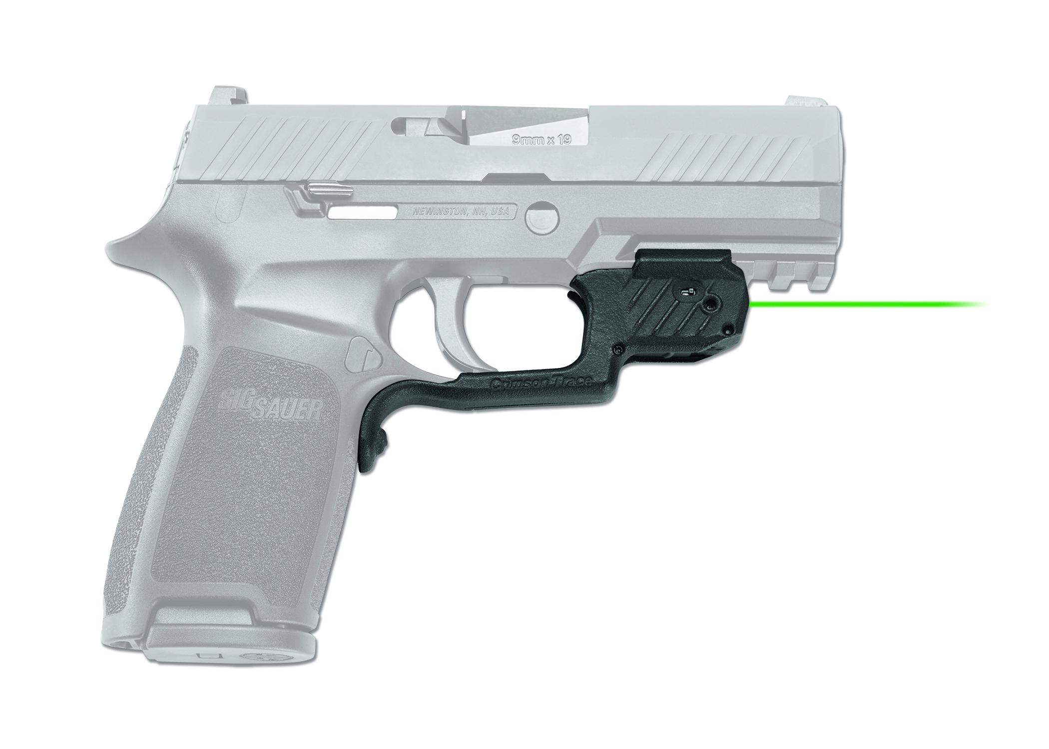 Crimson Trace LG-420 Laserguard, Green Laser Sight For Sig Sauer P320