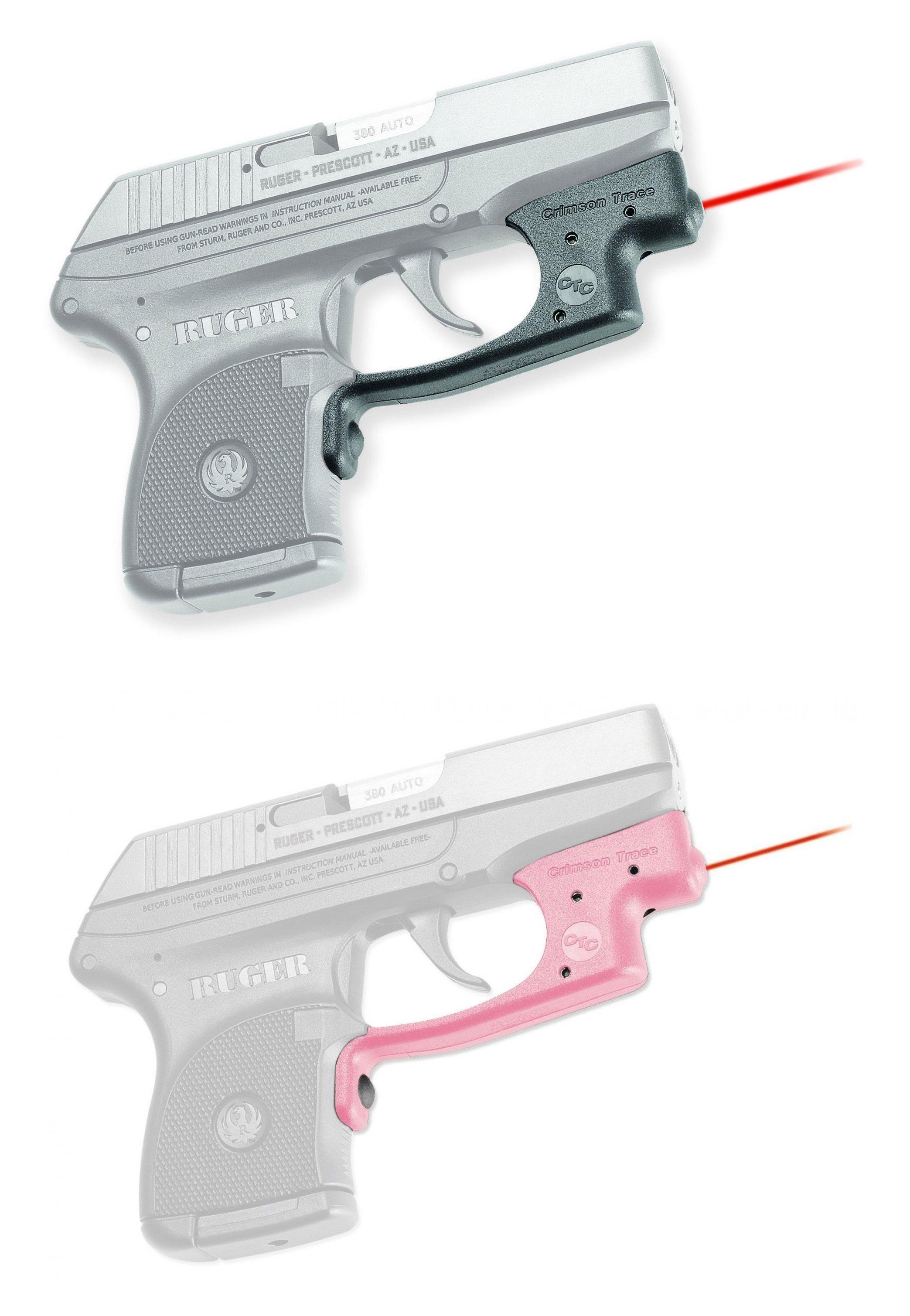 Crimson Trace Laserguard Red Laser Sight for Ruger LCP Handgun