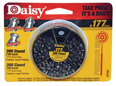 Daisy Outdoor Products 300 Count Dial a Pellet .177 Caliber 3 PK for sale online