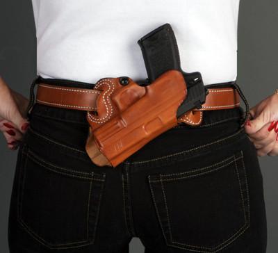 DeSantis Small of Back Belt Holster