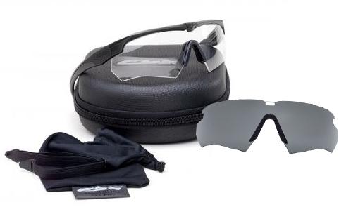 51580a766d9 ESS Crossbow Suppressor 2X Tactical Eyeshields Unit Issue w  Black Frames