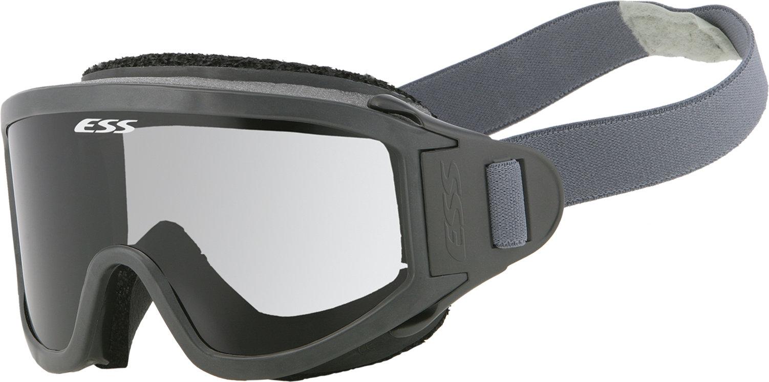 ESS Eyewear 740-0235 Striketeam SJ Goggles Rubber Smokeless Clear Lens