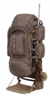 hunting backpack rifle scappard - External Frame Hunting Backpack