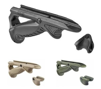 Fit Rifle Picatinny New Tactical Fab Defence  ptk+vts Angled Foregrip Black