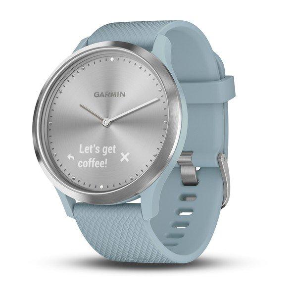 Garmin Vivomove HR Hybrid Smartwatch Sport Rose Gold 010-01850-12 Excellent