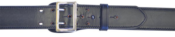 Size 52 Brass Gould /& Goodrich G/&G K59-52FLWBR Lined Duty Belt Black Weave