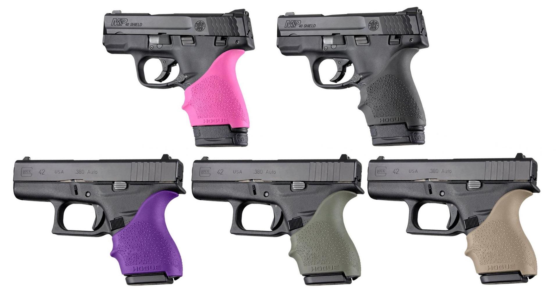 Hogue Handall Beavertail Grip Handgun Grip Sleeve