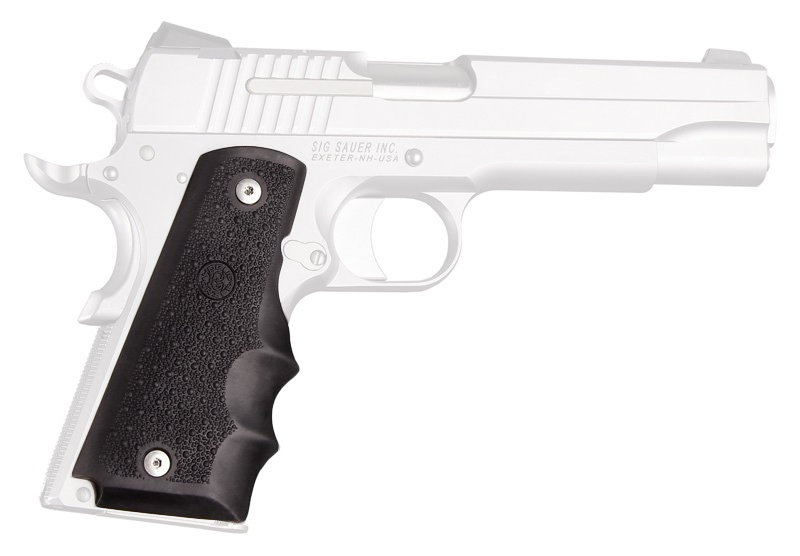 Hogue Handgun Monogrip Wraparound with Finger Grooves 1911 Style Pistols  45000