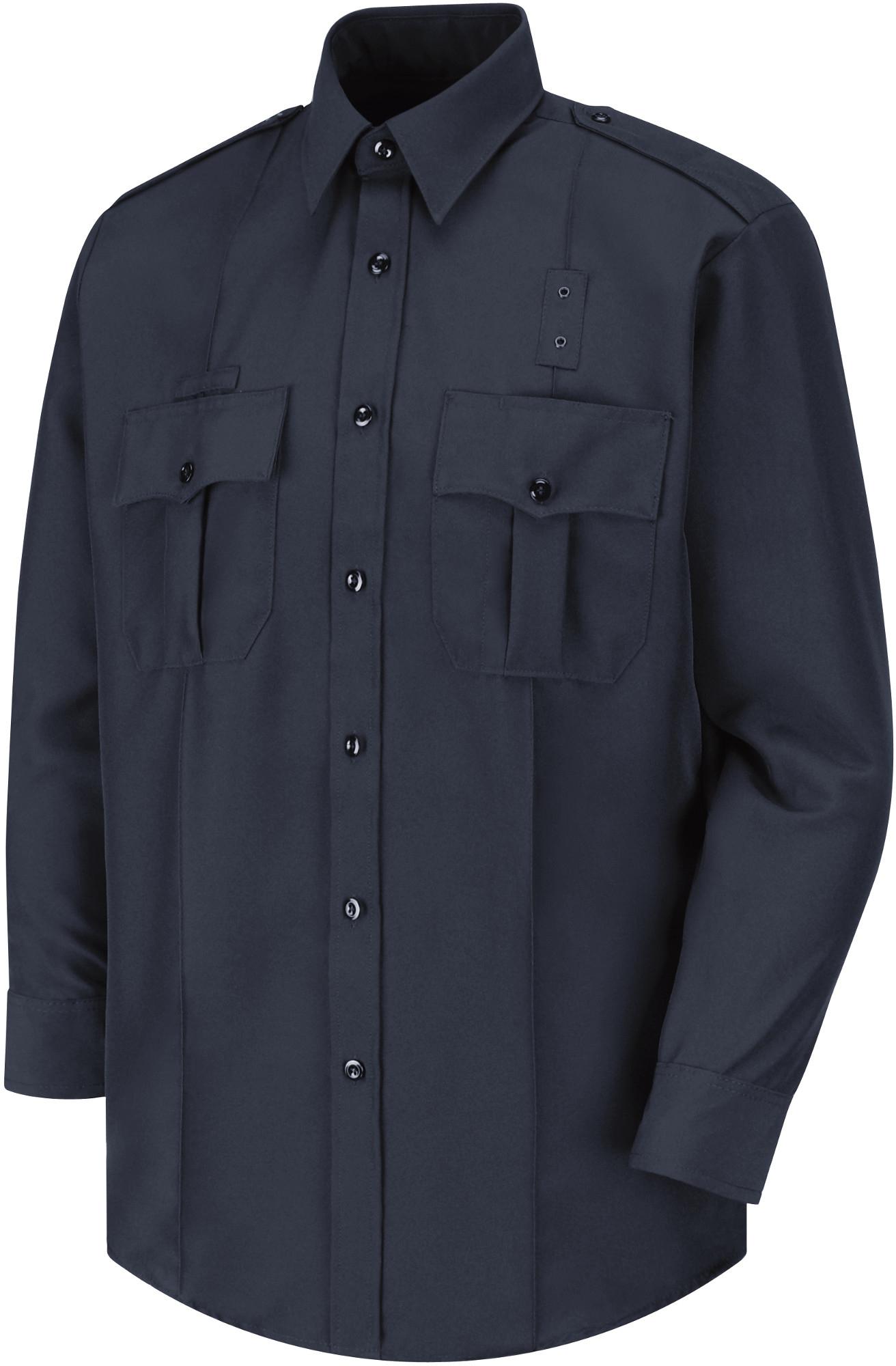 17534 Dark Navy Horace Small Sentry Action Option Shirt