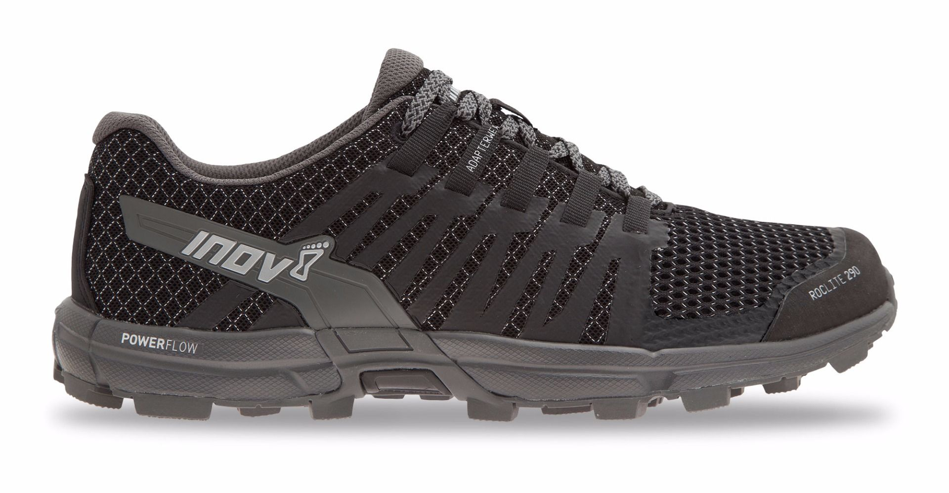 Inov8 Roclite 290 Women/'s Trail Running Shoes Blue Grey//White