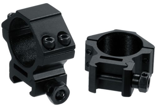 TACBRO 1 Dia Randomly Selected Color Medium Profile Scope Rings For Dovetail System with One Free TACBRO Aluminum Opener