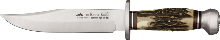Linder Original 440A Stainless Bowie Knife