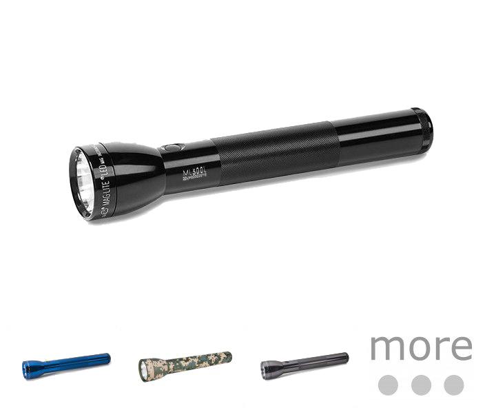 New MAGLITE ML300L 3D-Cell Battery LED Flashlight Aluminum 625 LUMENS
