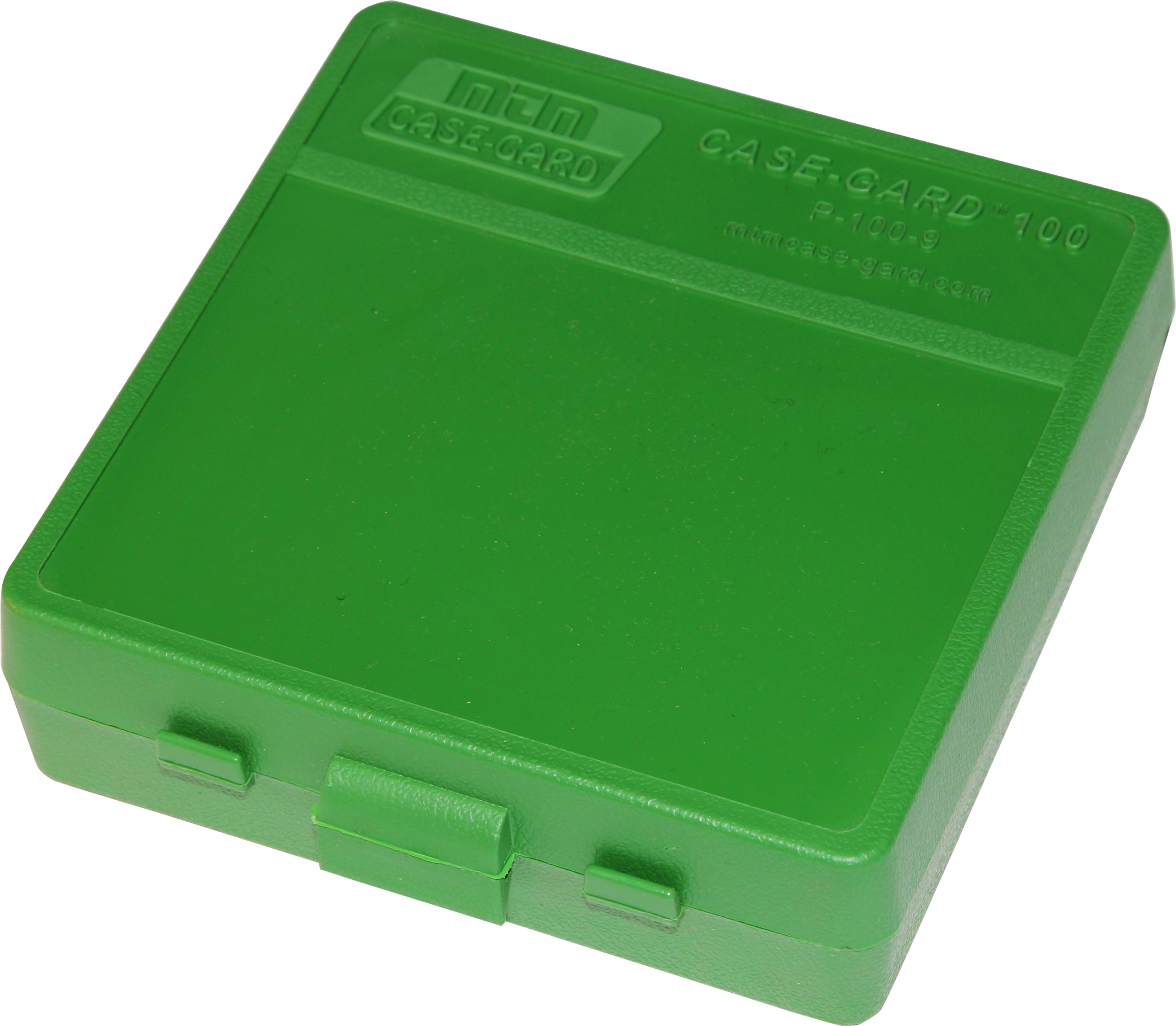 10 MTM PLASTIC AMMO BOXES FREE SHIPPING GREEN 100 Round 9mm // 380