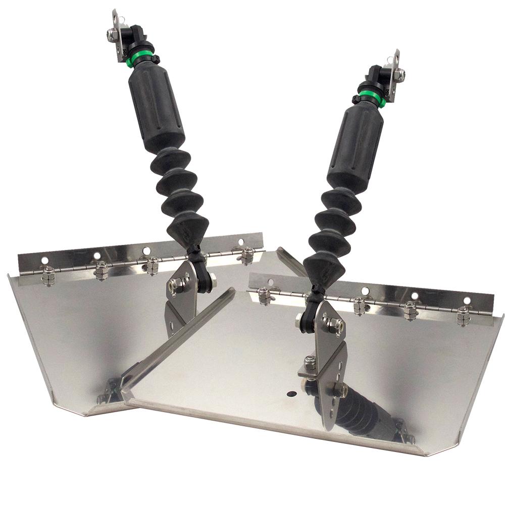 Nauticus St780-20 Smart Tab Trim Tabs 7 X 8 10-12/' Boats 8-18 Hp