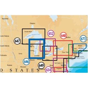 Navionics Platinum Plus Lake Michigan Marine Digital Map