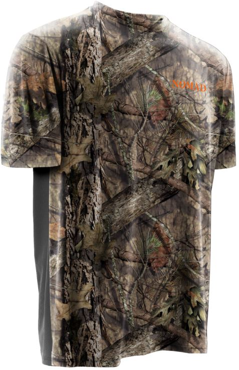 Adults Mens Clothes Camouflage Tshirt T Shirt Short Sleeve Top Mossy Leaf Camo