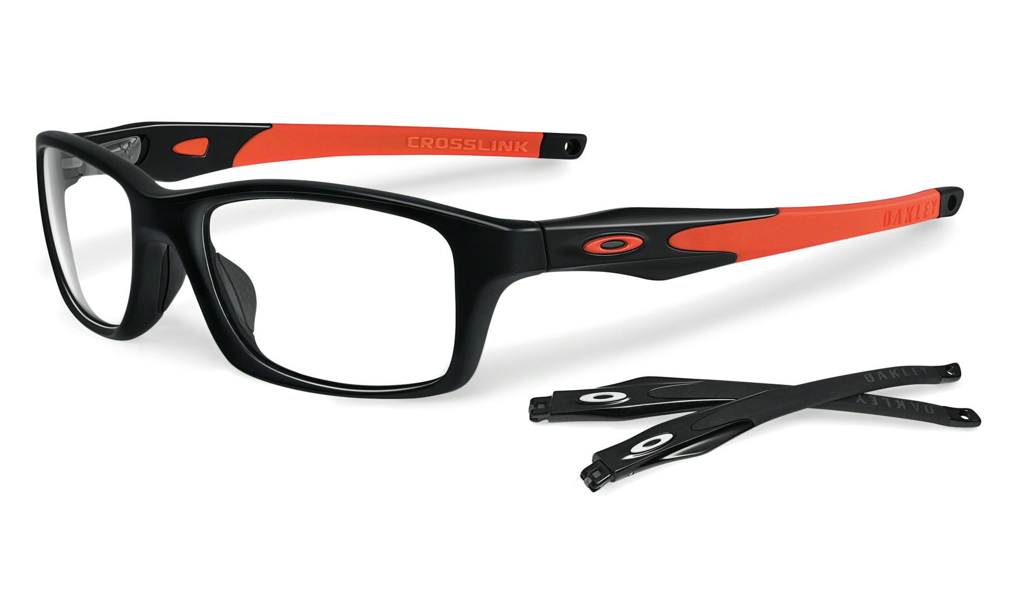 f3a62e9af4 Be the First to Review the Oakley Crosslink Pearl Team Cardinal  Prescription Eyeglasses OX8027-0453 — Page 1