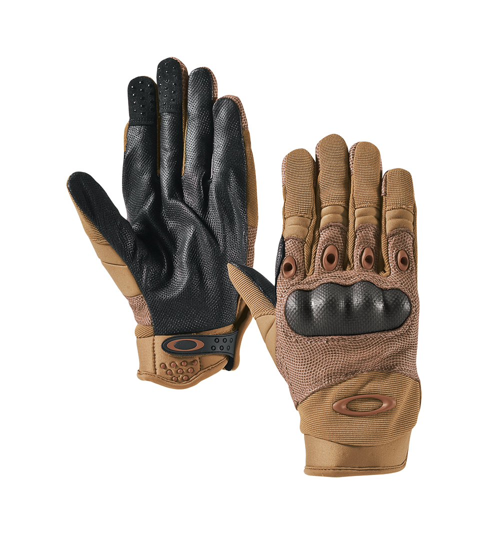 Factory Pilot Glove with Leather Palm Men/'s Tactical Knuckle Gloves Medium Black