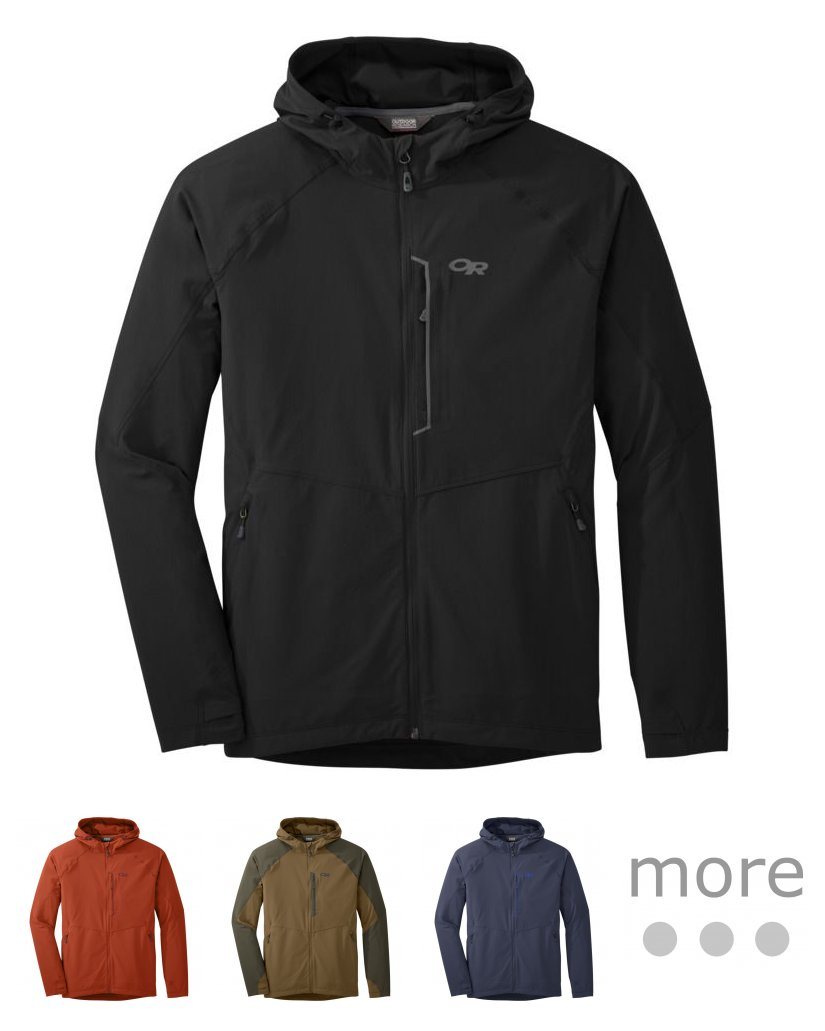 Outdoor Research Mens Ferrosi Hooded Jacket 2500941352008