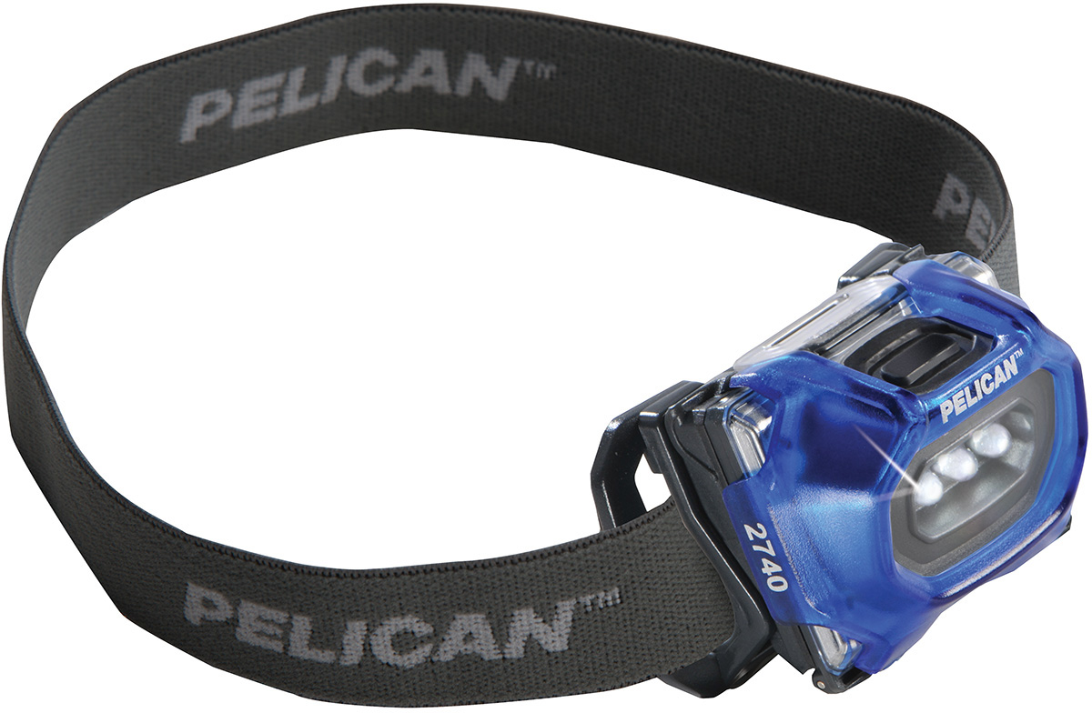*Clearance* 1-Pack Pelican 027400-0101-120 2740C Led Headlight Blue