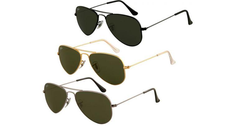 43557c1b469 Ray-Ban Aviator Small Metal Sunglasses RB3044