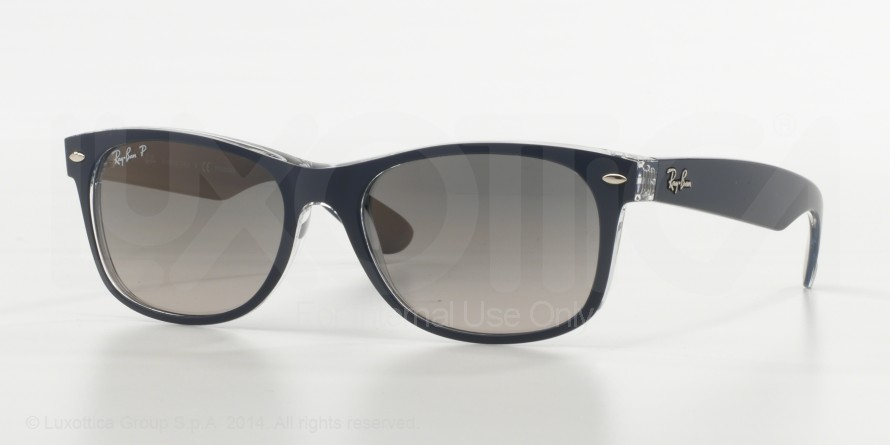 bfce5027f0a Ray-Ban New Wayfarer RB2132 Sunglasses with No-Line Progressive Rx  Prescription Lenses