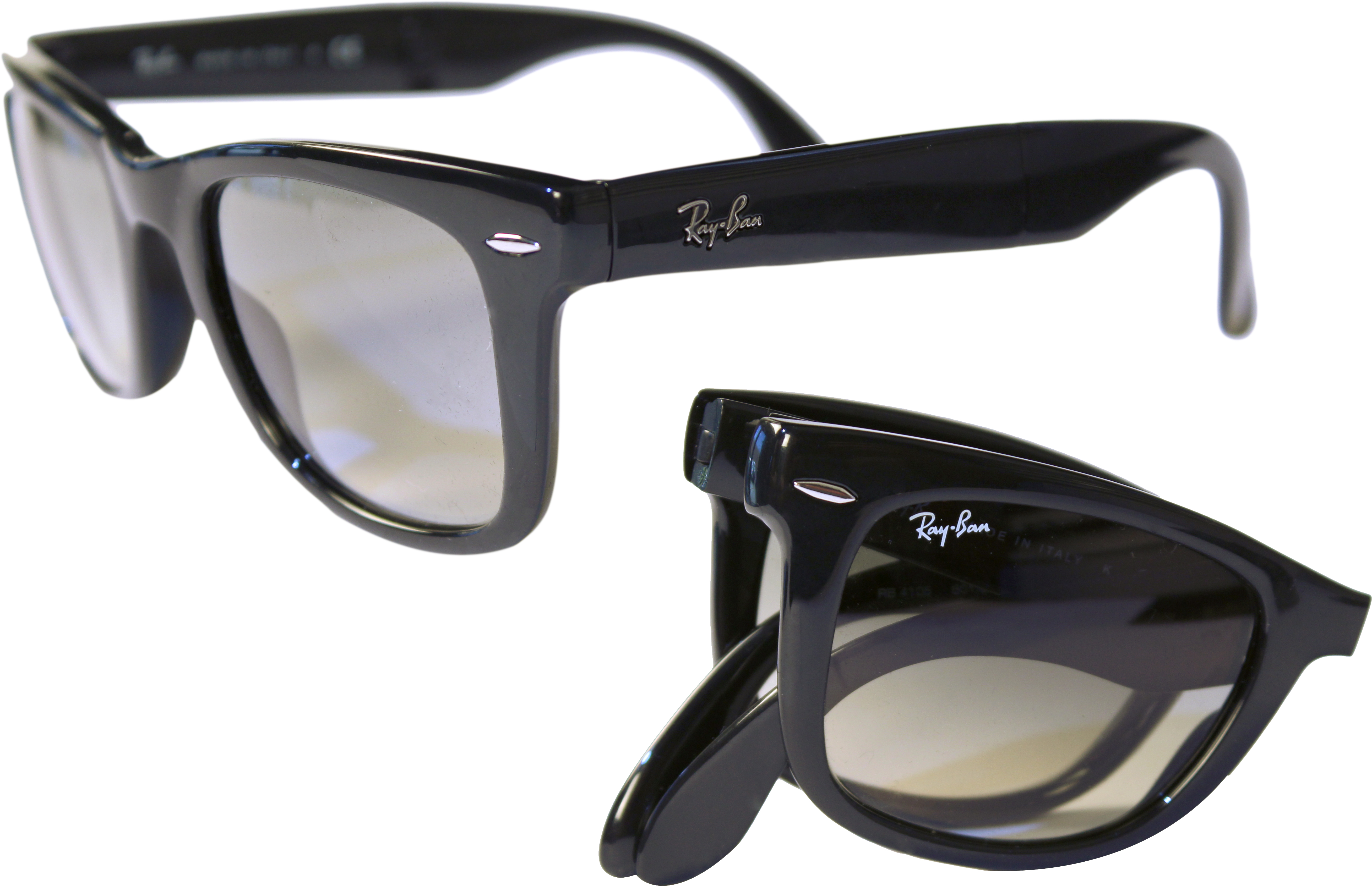 7513730293ad Reviews   Ratings for Ray-Ban Folding Wayfarer Prescription Sunglasses  RB4105 — 3 review — Page 1