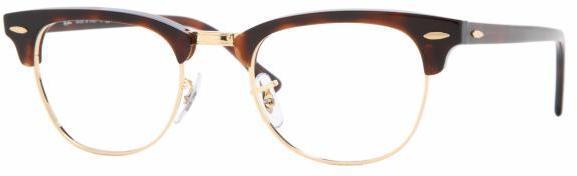 Ray-Ban Clubmaster Eyeglasses RX5154 with Rx Prescription Lenses   RX5154-2000-49,  RX5154-2077-49, RX5154-2372-49 4f455f23a5