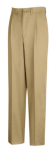 PC46NV 5036U PC46NV-50-36U Red Kap Pleated Front Cotton Pant Men