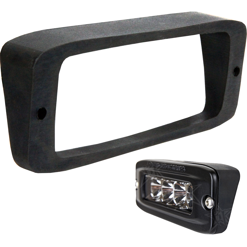 ALL MAKES AND MODELS RIGID INDUSTRIES IGNITE SURFACE MOUNT LED BACKUP LIGHT KIT.