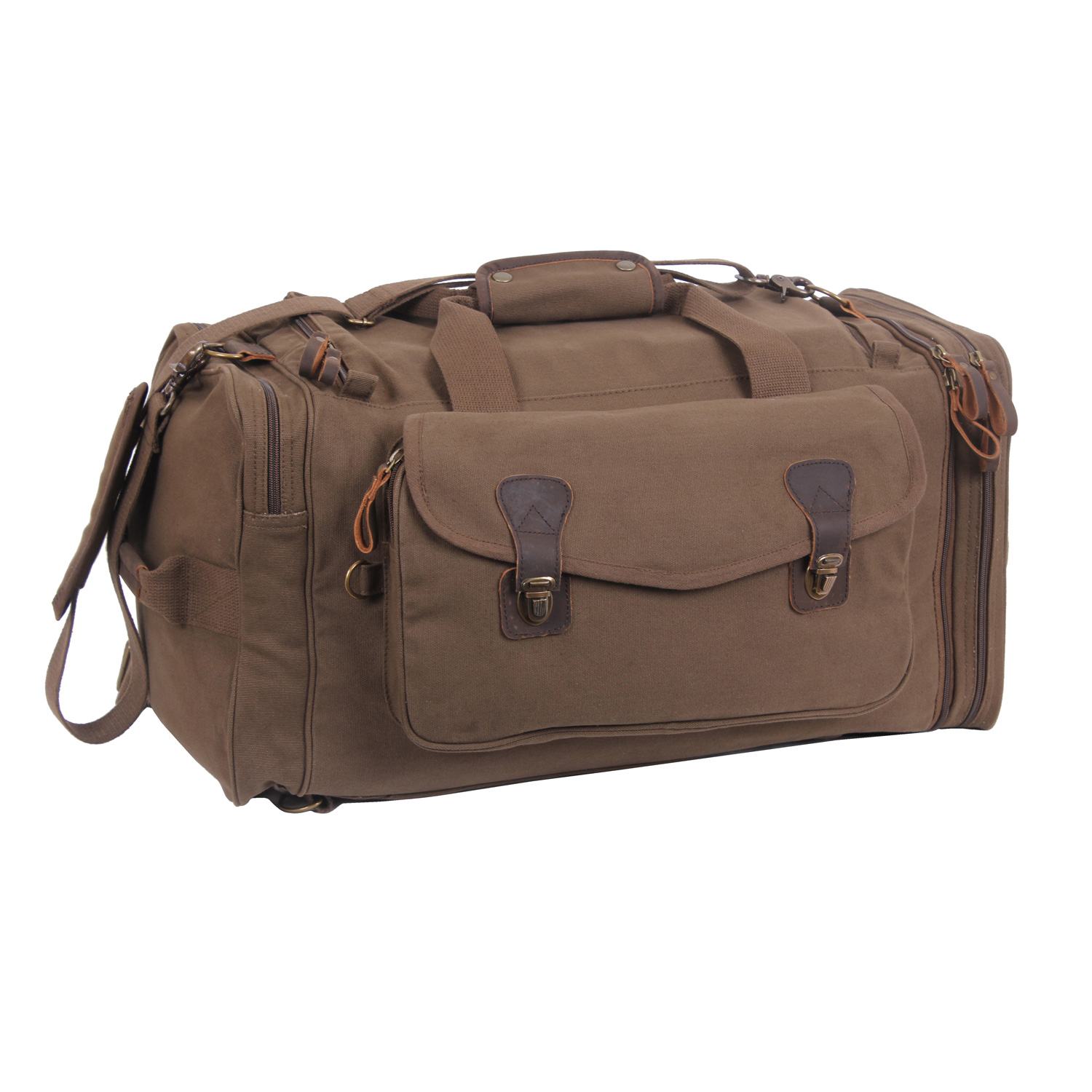 Rothco Canvas Extended Stay Travel Duffle Bag  505331d70bf82