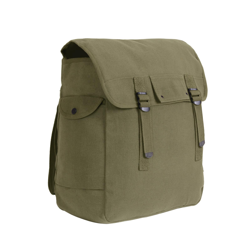 cc1be9d1f3 Rothco Canvas Jumbo Musette Bag